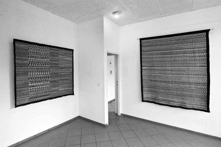 Ebba Fransén Waldhör Woven stereogram